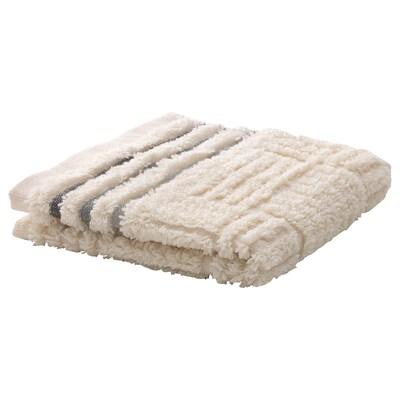 AGGÅN منشفة صغيرة, بيج, 30x30 سم