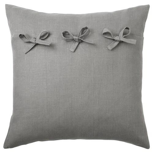 AINA cushion cover grey 50 cm 50 cm