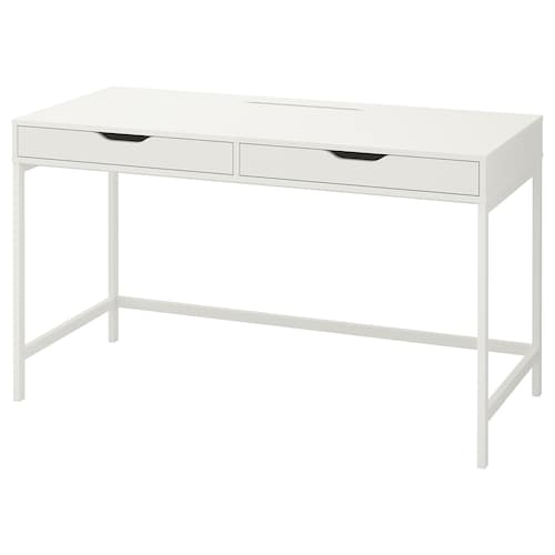 ALEX desk white 131 cm 60 cm 76 cm 62 cm