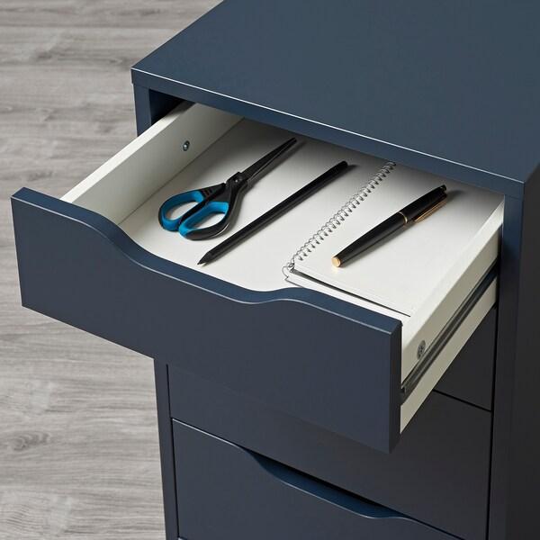 ALEX drawer unit blue 36 cm 58 cm 70 cm