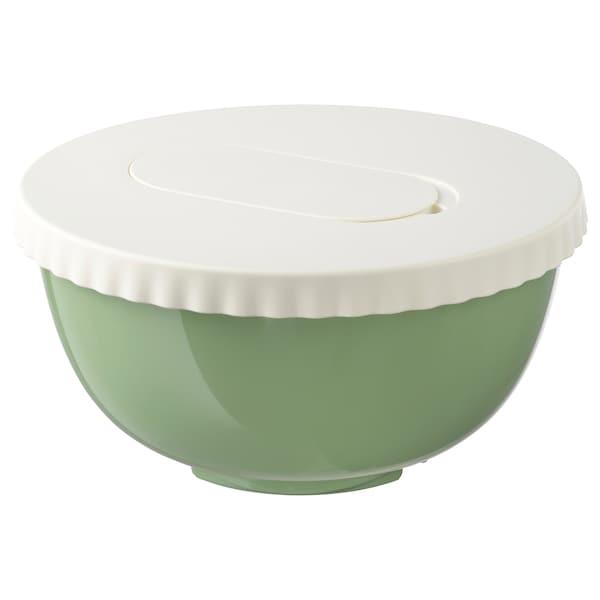 ALLEHANDA وعاء تحضير مع غطاء, أخضر, 4 ل