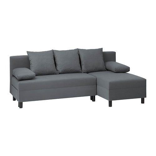 Angsta sofa bed with chaise longue ikea - Chaise longue sofa bed ...