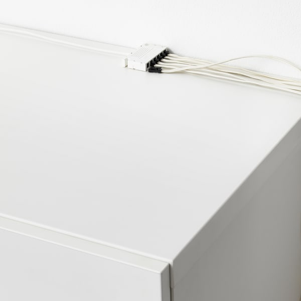 ANSLUTA محول LED مع سلك, أبيض, 19 واط