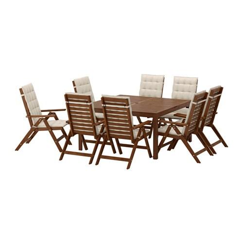 196PPLAR214 Table8 reclining chairs 196pplar246 brown stained  : applaro table reclining chairs beige0428218PE583417S4 from www.ikea.com size 500 x 500 jpeg 37kB