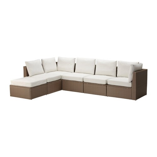 ARHOLMA Corner sofa 4+1 w stool, outdoor IKEA