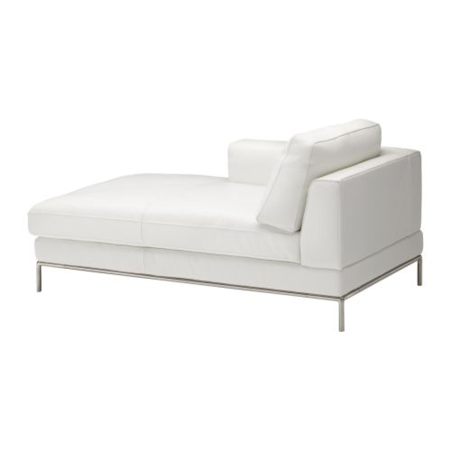 arild left hand chaise longue karakt r bright white ikea. Black Bedroom Furniture Sets. Home Design Ideas
