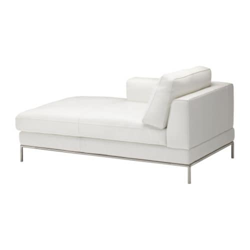 arild left hand chaise longue karakt r bright white ikea