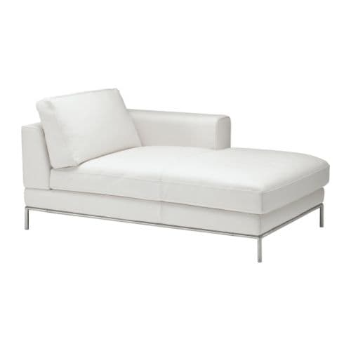 arild right hand chaise longue karakt r bright white ikea