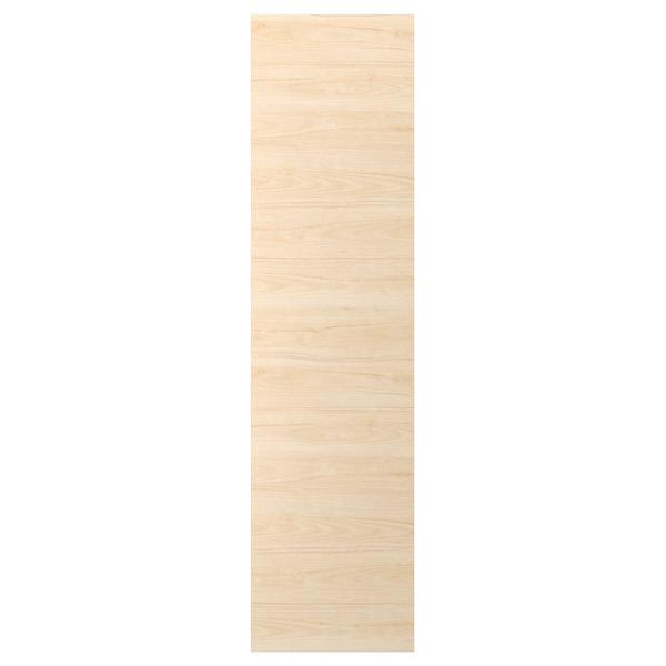 ASKERSUND لوح غطاء, مظهر دردار خفيف, 62x240 سم