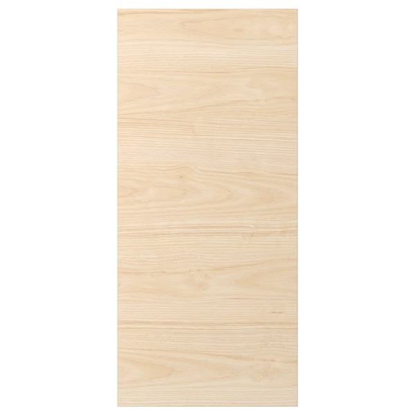 ASKERSUND لوح غطاء, مظهر دردار خفيف, 39x86 سم