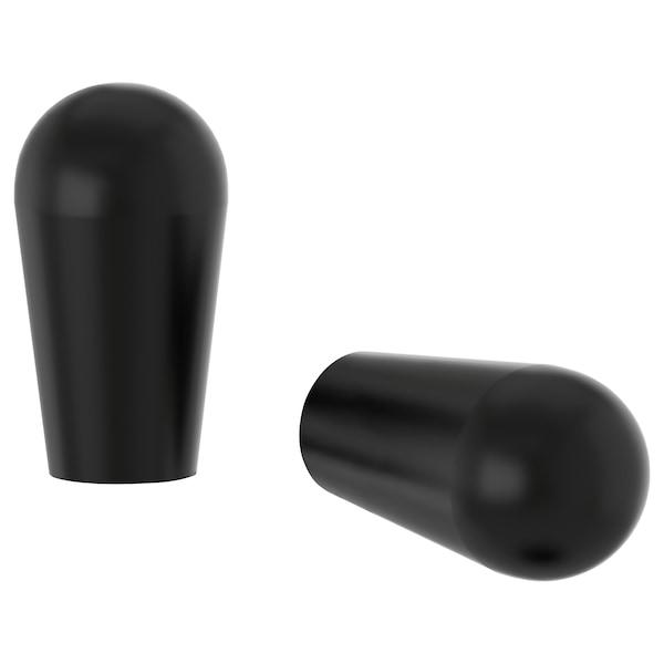 BAGGANÄS Knob, black, 13 mm