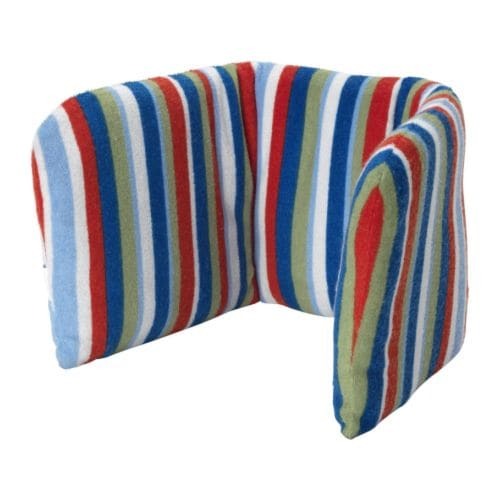BARNSLIG Supporting cushion IKEA Provides soft support when sitting on the highchair.