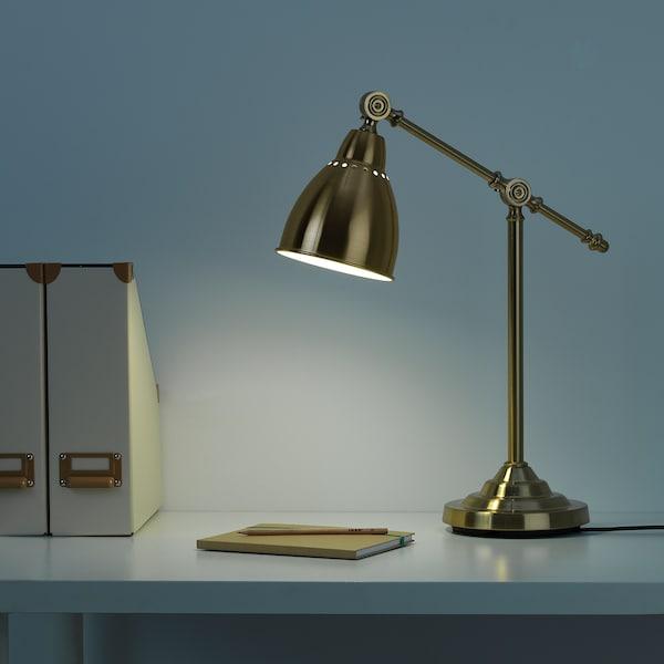 BAROMETER مصباح مكتب, لون نحاسي