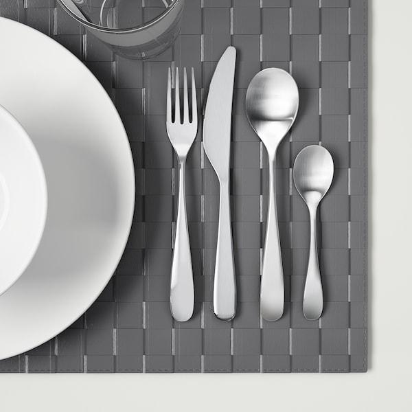 BEHAGFULL طقم أدوات تناول الطعام 24 قطعة., ستينلس ستيل