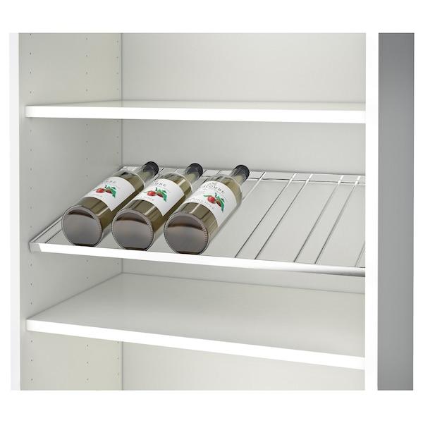 BESTÅ Bottle rack for 6 bottles, chrome-plated