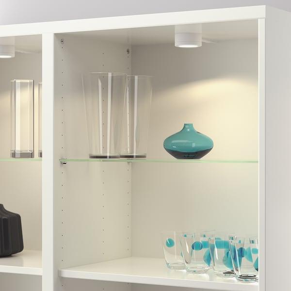 BESTÅ Glass shelf, glass, 56x36 cm