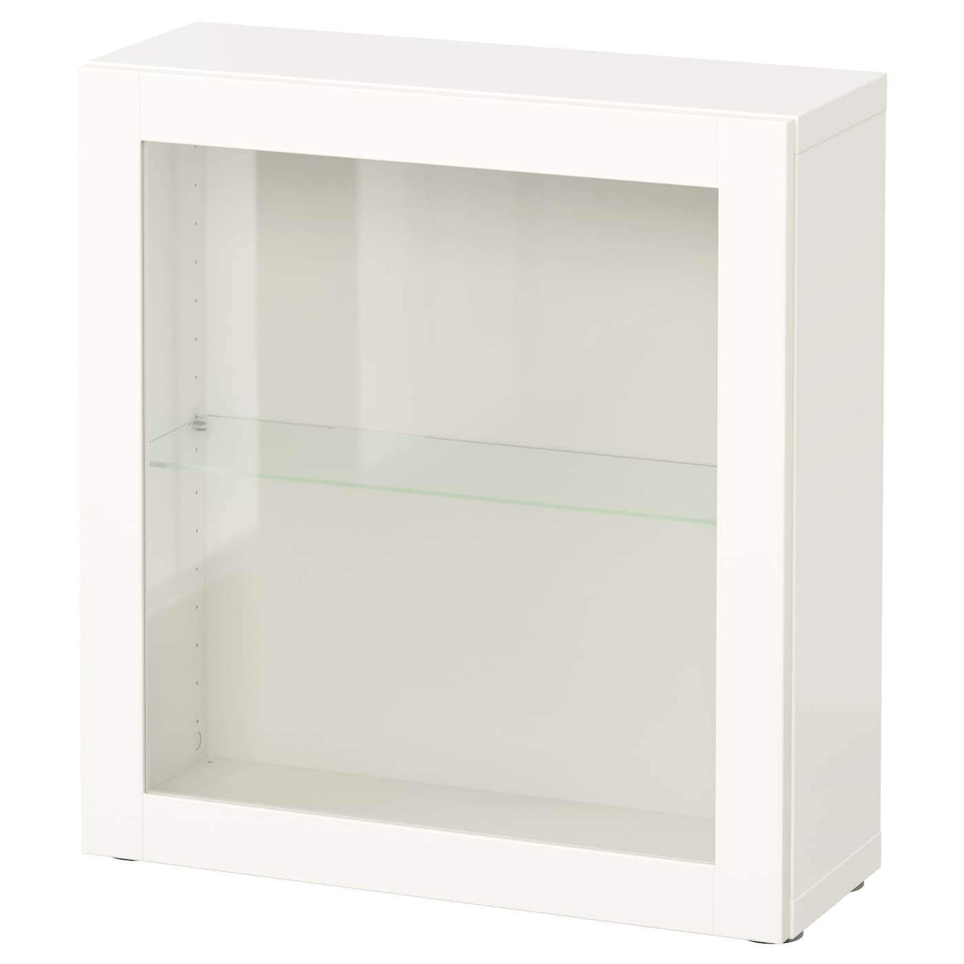 Shelf Unit With Glass Door Bestå Sindvik White