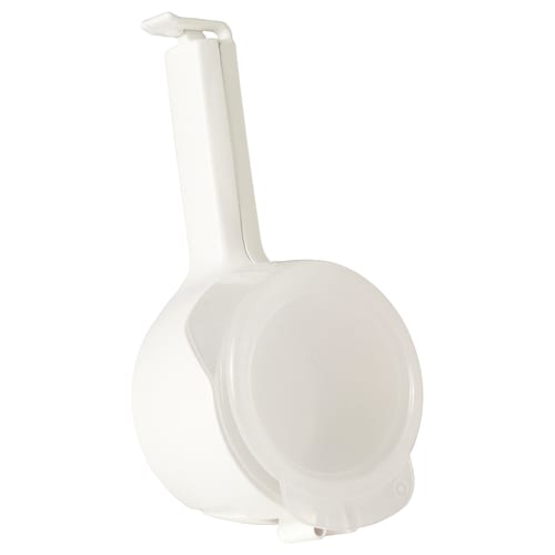 BEVARA seal and pour bag clip white 12 cm 1 pack