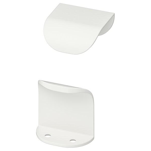 BILLSBRO Handle, white, 40 mm