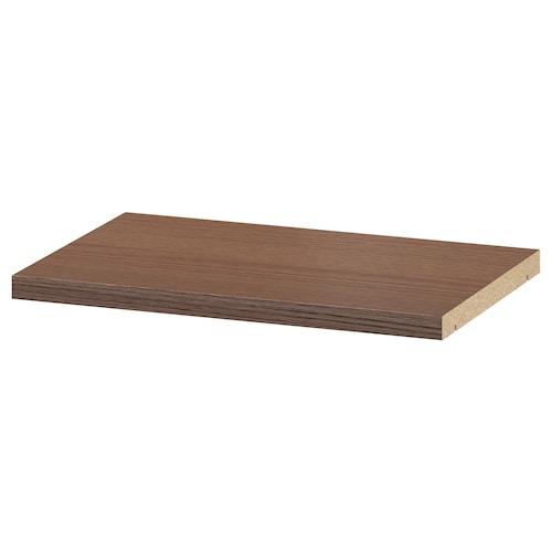 BILLY extra shelf brown ash veneer 36 cm 26 cm 2 cm 14 kg