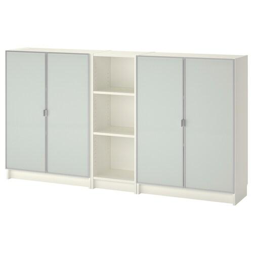 BILLY / MORLIDEN bookcase white 200 cm 30 cm 106 cm 30 kg
