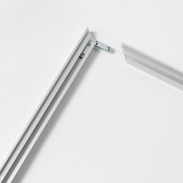 BJÖRKSTA frame aluminium-colour 140 cm 100 cm