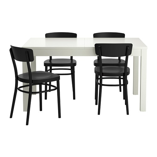BJURSTA IDOLF Table and 4 chairs IKEA : bjursta idolf table and chairs black0188359PE341201S4 from www.ikea.com size 500 x 500 jpeg 26kB