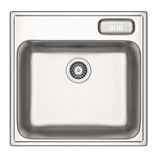 BOHOLMEN Single-bowl inset sink IKEA 25 year guarantee.   Read about the terms in the guarantee brochure.