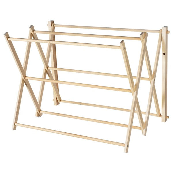 BORSTAD drying rack, wall 43 cm 71 cm 50 cm