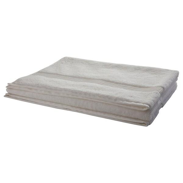 BREDASUND منشفة حمّام, أبيض, 100x150 سم