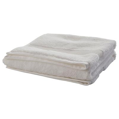 BREDASUND منشفة يد, أبيض, 50x100 سم