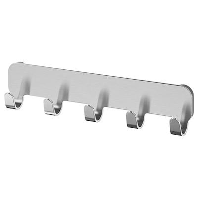 BROGRUND Hook rack, stainless steel
