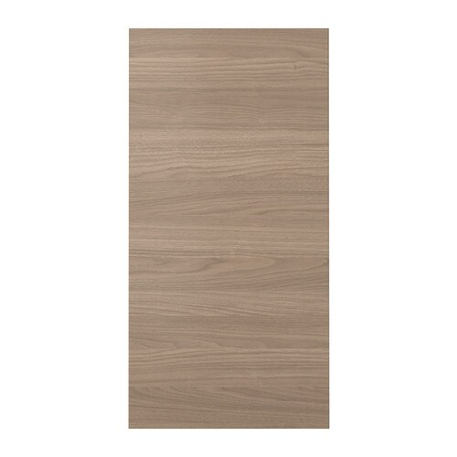 BROKHULT Door IKEA BROKHULT door has simple straight lines and a surface with the texture and pattern of walnut.