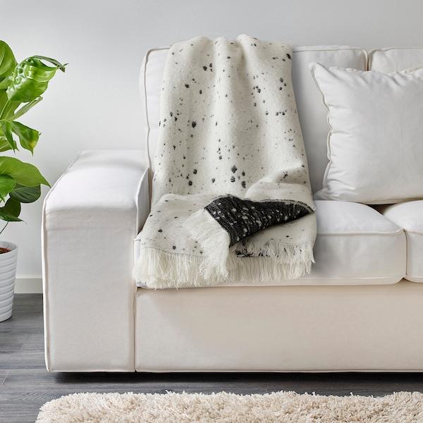 BRUNVEN غطاء, أسود وأبيض, 150x200 سم