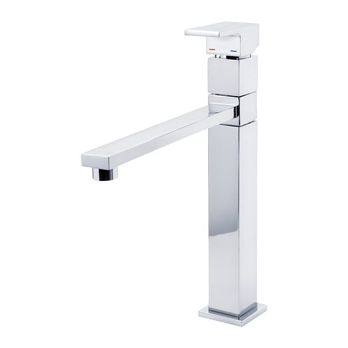 BUDSKÄR Kitchen mixer tap IKEA Function to reduce water flow without affecting the pressure; saves water and energy.