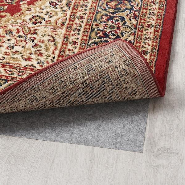 BUSEMARKE rug, low pile multicolour 80 cm 50 cm 1.5 cm 0.63 m² 3307 g/m²