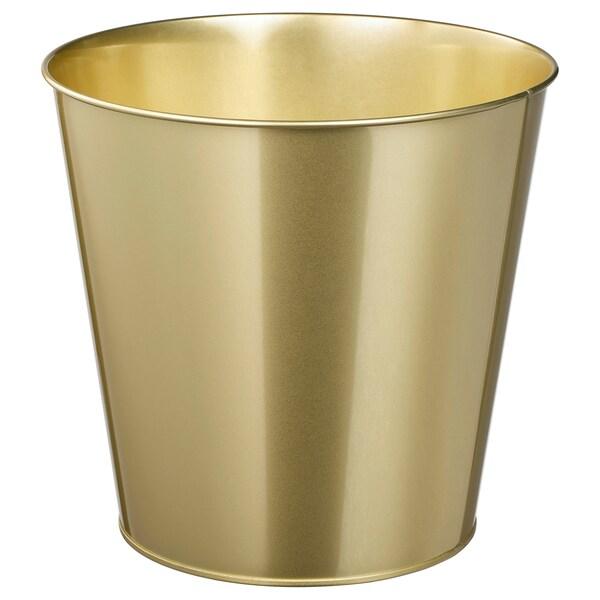 DAIDAI plant pot brass-colour 24 cm 26 cm 24 cm 25 cm