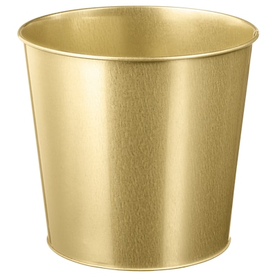 DAIDAI Plant pot, brass-colour, 19 cm