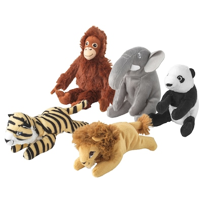 DJUNGELSKOG Soft toy, assorted designs