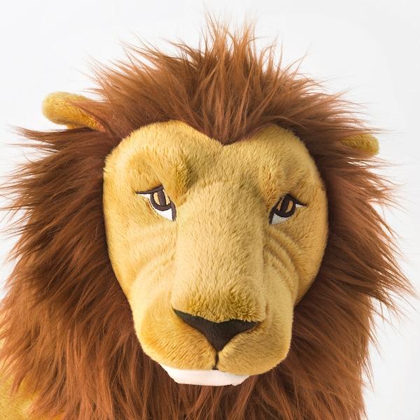 DJUNGELSKOG Soft toy, lion
