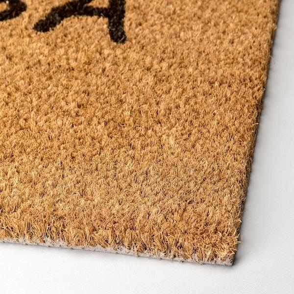DONSLUND Door mat, natural, 40x70 cm