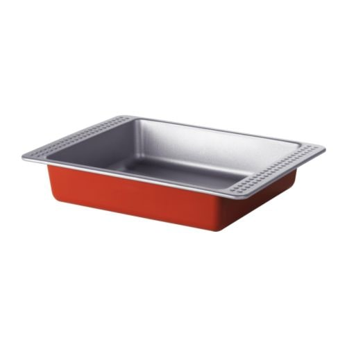 DRÖMMAR Baking tin IKEA With Teflon®Classic non-stick coating which makes food and pastry release easily.