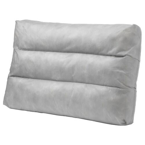 DUVHOLMEN inner cushion for back cushion outdoor grey 44 cm 62 cm 14 cm 995 g 1065 g