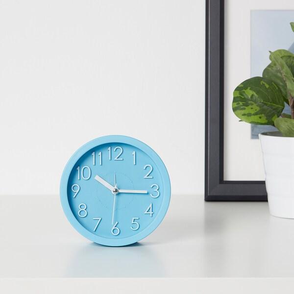 DYGNA Alarm clock, blue, 12 cm