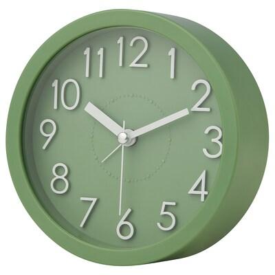 DYGNA Alarm clock, green, 12 cm