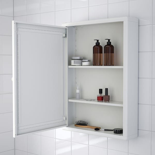 DYNAN mirror cabinet with 2 base cabinets white 80 cm 27 cm 124 cm