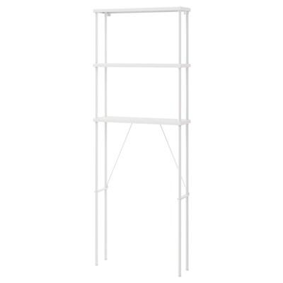 DYNAN Open storage, white, 70x20x189 cm