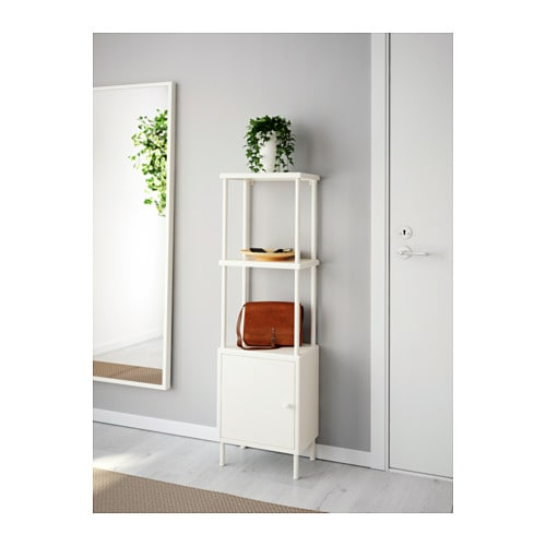 DYNAN Shelving unit with cabinet - IKEA