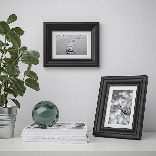 EDSBRUK Frame, black stained, 13x18 cm