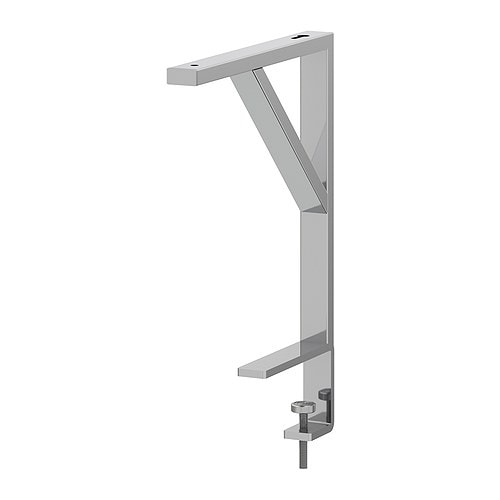 EKBY TÖRE Bracket for table top IKEA Mounts onto the table top; easy access storage that clears desk space.